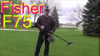 #4 Metal Detecting! Fisher F75