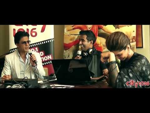Chennai Express - SRK & Deepika with the Press & Studio Visit - Link 2