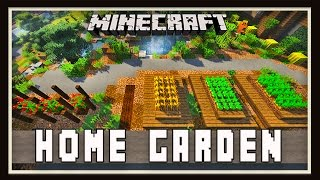 Minecraft: Backyard Home Garden Design   (Modern House Tutorial  Ep. 27)