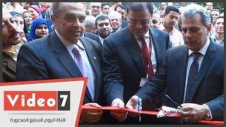 بالفيديو.. رئيس جامعة القاهرة يفتتح المؤتمر الدولى الأول