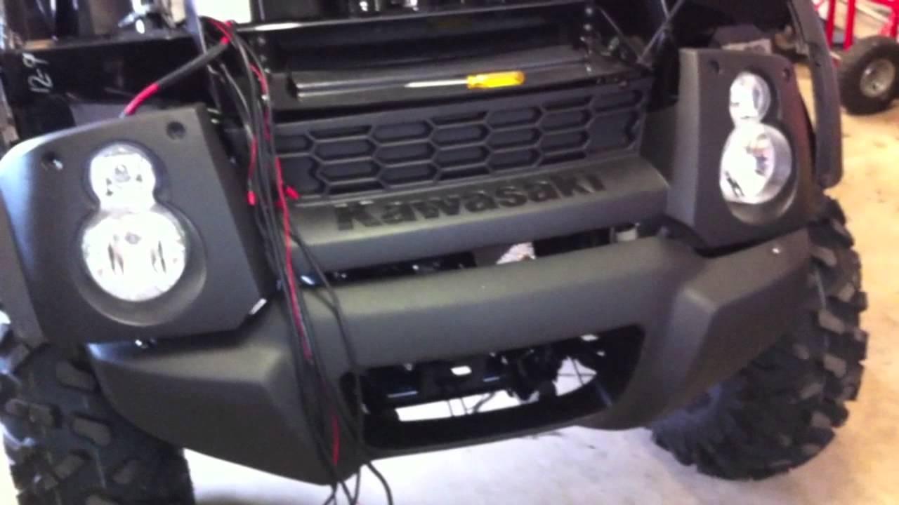 Kawasaki Mule 610 Xc Project Installing Accessories