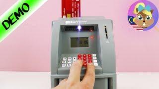 """""""ATM UNTUK KAT RUMAH! Tabung elektrik ATM- Mari main sama-sama permainan kanak-kanak """""""