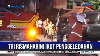 Penggeledahan Rumah Terduga Teroris dihadiri Tri Rismaharini
