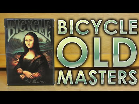 Deck Review - Bicycle Old Masters Playing Cards [HD]