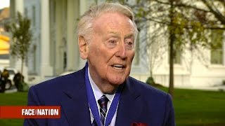 "Legendary sportscaster Vin Scully: ""Don't be afraid to dream"""