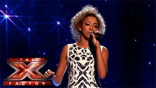 Kiera Weathers sings for survival with R.E.M. Clic | Week 1 Results | The X Factor 2015