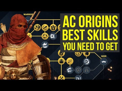 Assassin's Creed Origins Best Skills TO GET AS SOON AS POSSIBLE (AC Origins best skills)