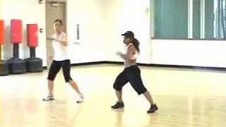 Zumba Fitness with DAR - choreography to IMPACTO by daddy yankee..FUN and FAST! - Zumba