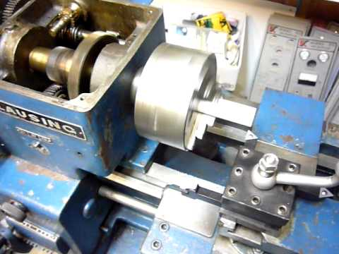 Clausing Lathe CNC Conversion 01 - First Turning
