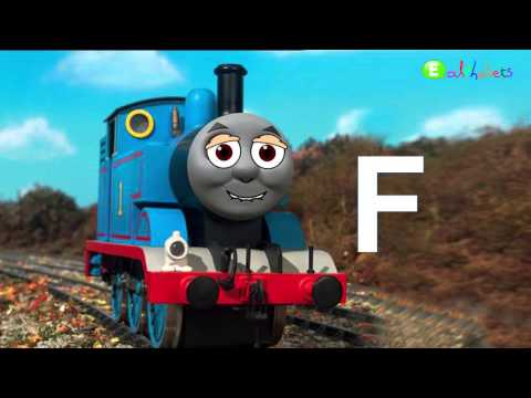 Thomas and Friends Train ABC Alphabet  song