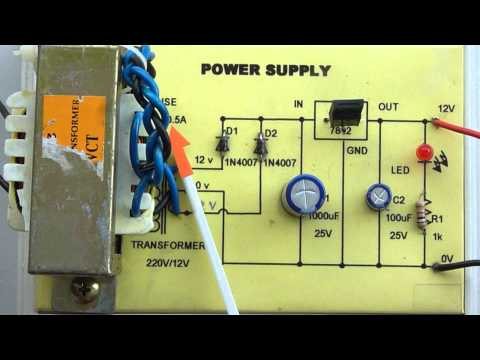 วงจร Power supply [Full Time] Music Videos