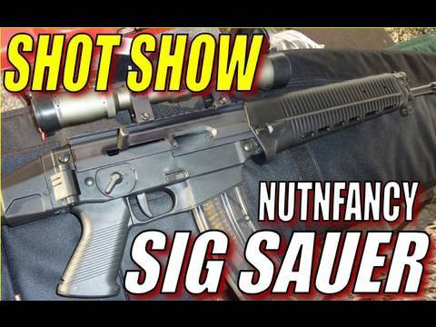 Nutnfancy at SHOT Show: SIG SAUER