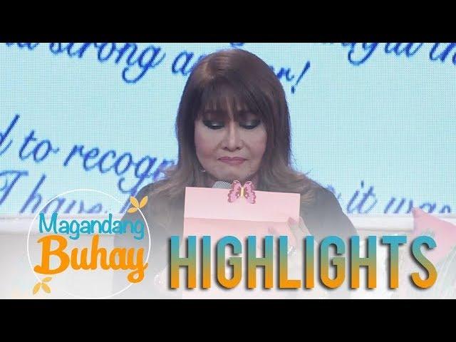Magandang Buhay: Imelda Papin becomes emotional