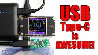 Here is why USB Type-C is AWESOME and how you can use Power Delivery for your electronics!