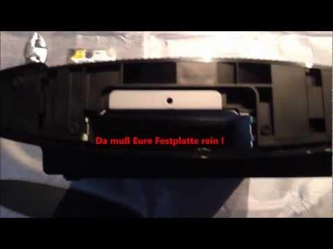 Playstation 3 Super Slim 12GB aufrüsten Festplatte einbauen / Einbau