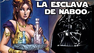 Darth Vader y la esclava de Naboo - Star wars