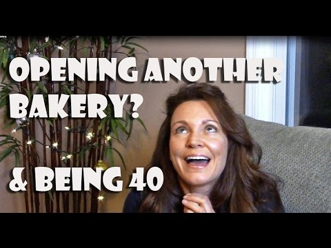 Opening Another Bakery? & Being 40 || Gretchen's Bakery Vlog #5
