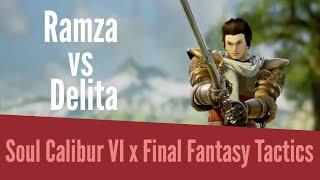 Soul Calibur 6 x Final Fantasy Tactics - Ramza VS Delita
