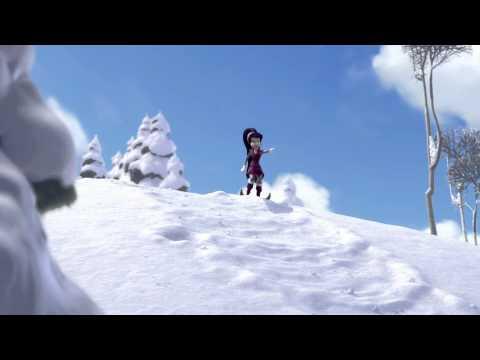 Tinker Bell Y El Secreto De Las Hadas: Cómo Hacer Un Muñeco De Nieve video