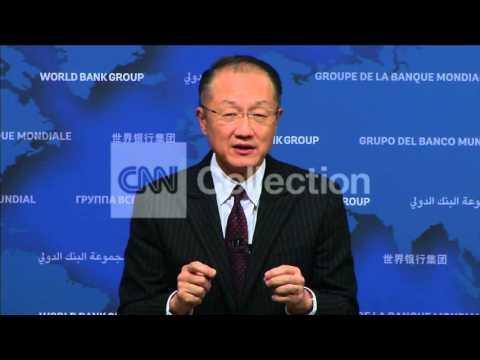 EBOLA: WORLD BANK PRESIDENT ON FIGHTING THE VIRUS