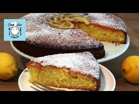 Итальянский лимонный пирог