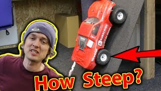 RC Car Steep Hill test - Who will WIN? It's not what you think!!