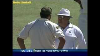 Inzamam fights with Aussie umpire, MUST WATCH!!!!!