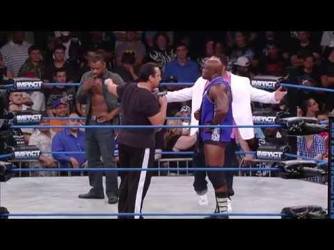 MVP, Lashley and Kenny King Interrupt Kurt Angle to Open IMPACT WRESTLING (Aug 27, 2014)