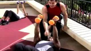 Body Challenge 2008 - Gilad Chest Workout