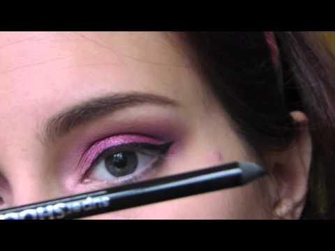 80°. make-up tutorial trucco per rosse con occhi verdi e pelle chiara