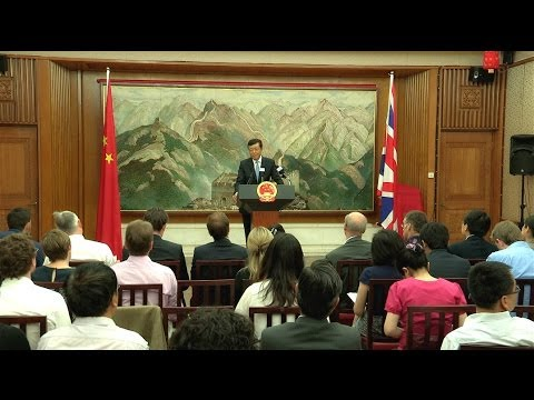 Chinese Prime Minister Li Keqiang in UK & Greece
