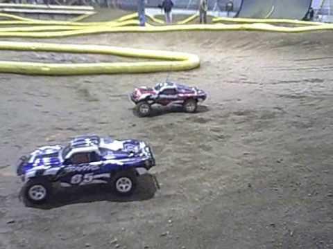 Traxxas SLASH Action R/C Car Racing HCRC Danville Indiana CORR truck WILD!