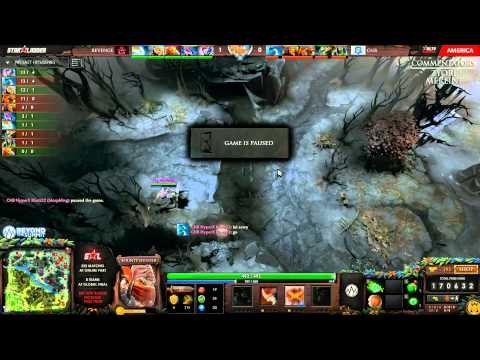 Revenge vs CNB (Starladder IX America - Group Stage)
