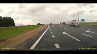 Car Flies into Traffic   Crash
