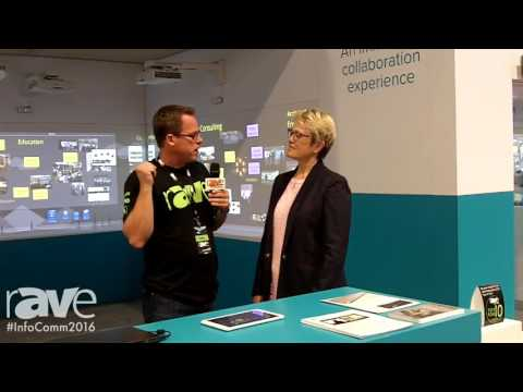 InfoComm 2016: Gary Kayye Interviews Nureva Founder Nancy Knowlton at InfoComm