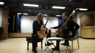 Denis Azbagic teaches Una limosna por el amor de Dios by Agustin Barrios Mangore