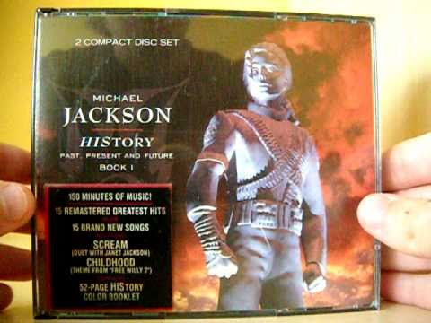 Unboxing Michael Jackson - HIStory: Past, Present and Future, Book I