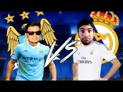 Manchester City F.C. vs. Real Madrid - SEMIFINAL - FIFA 16