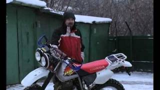 Мотодрайв Yamaha TTR 250 vs Honda XR 250 Baja (Part 2)
