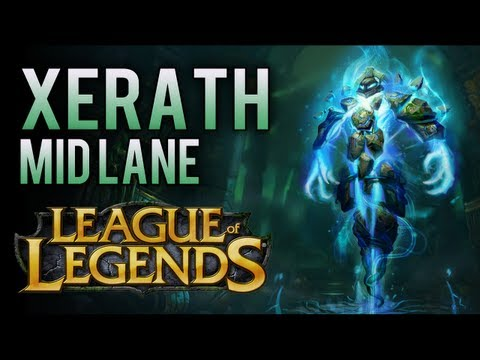 Xerath Mid Lane (How To Play AP Xerath) - League Of Legends