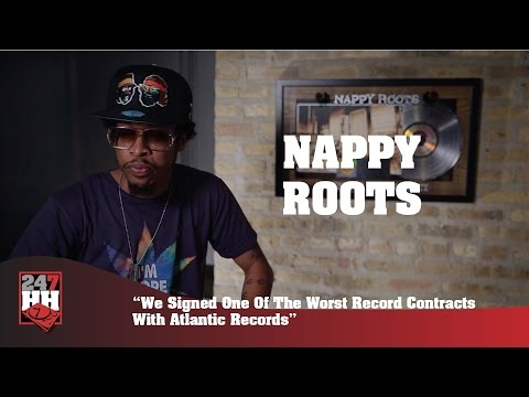 Nappy Roots - We Signed One Of The Worst Record Contracts With Atlantic Records 247HH Exclusive