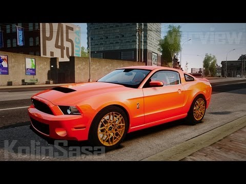 Ford Shelby GT500 2013