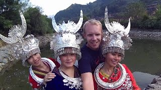 A very Warm welcome in Xijiang (minority Miao village in China)