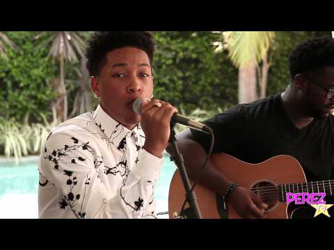 Jacob Latimore - heartbreak Heard Around The World (acoustic Perez Hilton Performance) video