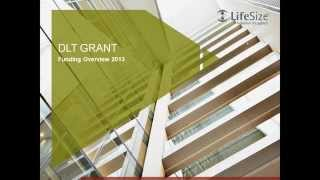 Distance Learning Telemedicine Grant March 2014