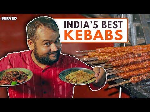 Ghalib Kabab Corner – Kebab heaven in India | Best Indian Street Food | Served #17