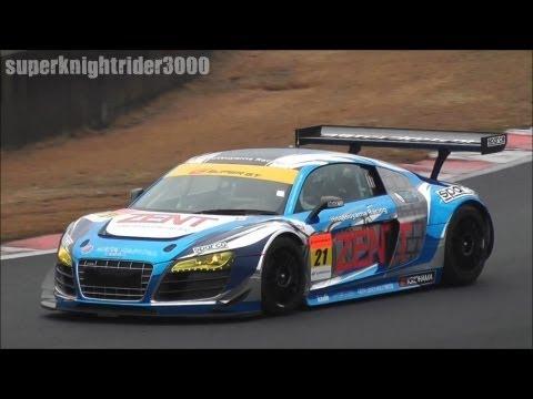 スーパーGT 2012 GT300 Audi R8-LMS ultra 公式テスト 岡山国際サーキット