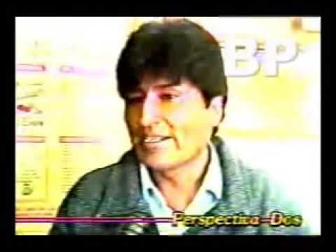 EVO MORALES EN 1995