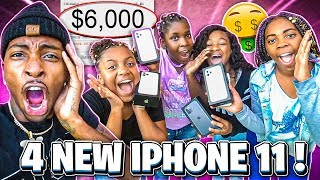 I SURPRISED MIRAH ,KAM DEJAH, & MACEI WITH NEW IPHONE 11'S