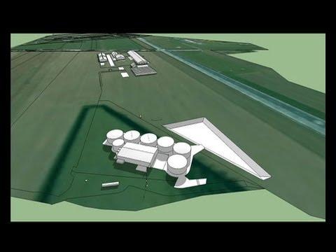 """Voici la modélisation 3D de """"LA FERME-USINE AUX 1000 VACHES"""" de M. RAMERY. Ce Travail à été réalisé, en réponse au comportement hors la loi de M. Le Préfet d..."""